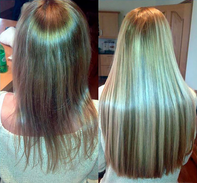 Сколько стоит капсульное наращивание волос
