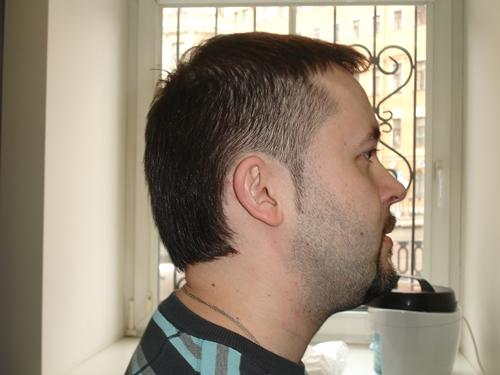 Мужская причёска по бокам коротко